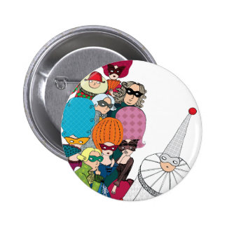 Carnival 2 Inch Round Button