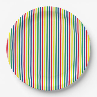 Carnival 9 Inch Paper Plate