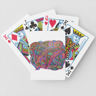 CARNIVAL ABSTRACT BICYCLE PLAYING CARDS