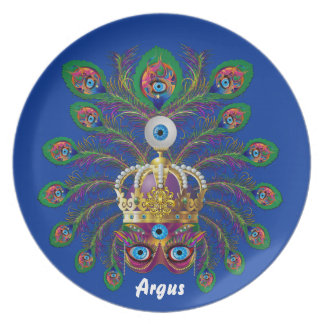 Carnival Argos-Argus Eyes Important view notes Party Plates