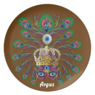 Carnival Argos-Argus Eyes Important view notes Plate