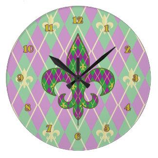 Carnival Argyle Clock