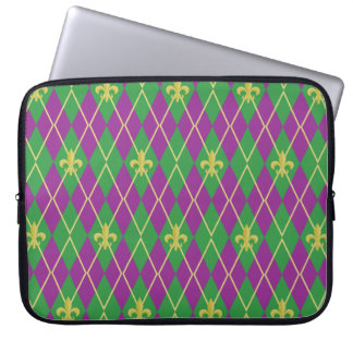 Carnival Argyle Laptop Sleeve