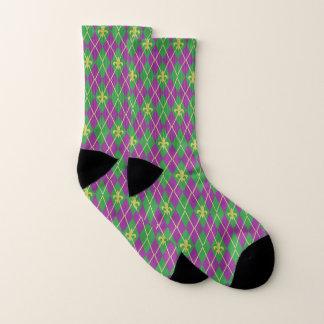Carnival Argyle Socks 1