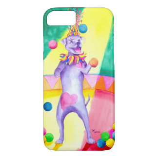Carnival Canine iPhone 7, Barely There Case