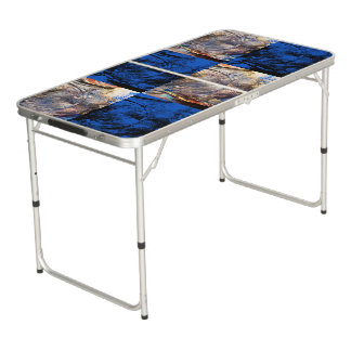 carnival chest beer pong table