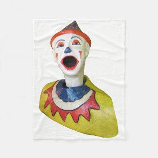 Carnival Clown Fleece Blanket