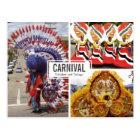 Carnival Collage (Multi-view) Postcard