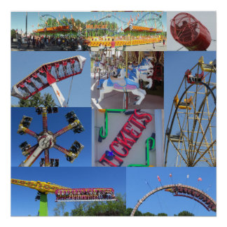 Carnival Collage Poster