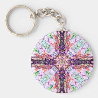 Carnival Cross  Keychain