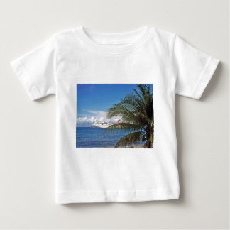 Carnival cruise ship docked at Grand Cayman Baby T-Shirt