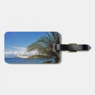 Carnival cruise ship docked at Grand Cayman Luggage Tag
