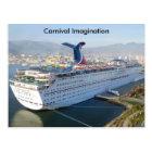 Carnival Cruise Ship Post Card