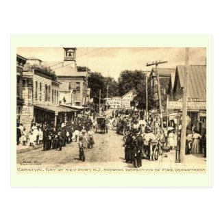 Carnival Day, Keyport, New Jersey Vintage Postcard