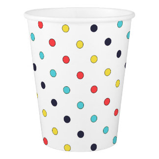 Carnival Dots Paper Cups