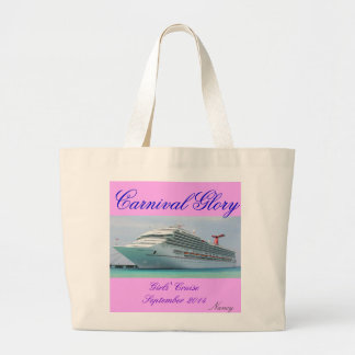 Carnival Glory Cruise Tote
