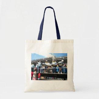 Carnival in San Fernanado Trinidad Budget Tote Bag