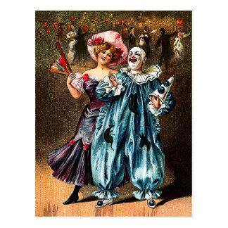 Carnival: Jolly Comrades Postcard