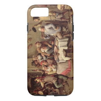 Carnival: 'Le Roi Boit', 1690 (oil on copper) iPhone 7 Case