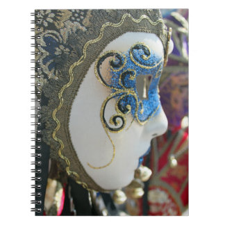 Carnival mask notebook