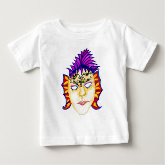 Carnival Mask Watercolor 2 Baby T-Shirt