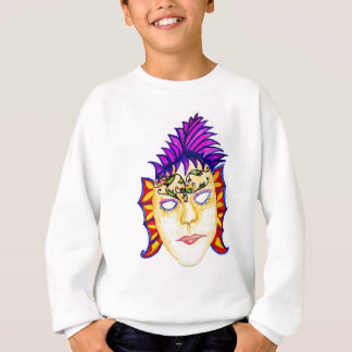 Carnival Mask Watercolor 2 Sweatshirt
