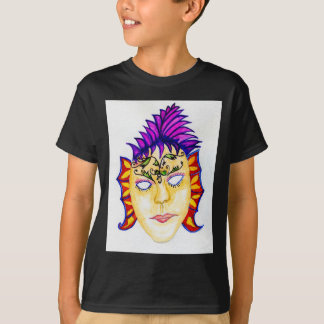 Carnival Mask Watercolor 2 T-Shirt
