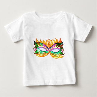 Carnival Mask Watercolor Baby T-Shirt