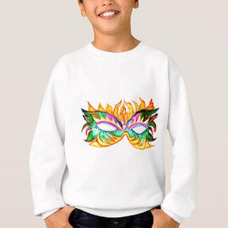 Carnival Mask Watercolor Sweatshirt