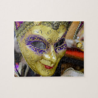 Carnival Masks in Venice Italy Jigsaw Puzzle