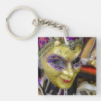 Carnival Masks in Venice Italy Keychain
