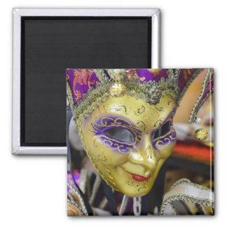 Carnival Masks in Venice Italy Magnet
