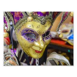 Carnival Masks in Venice Italy Photo