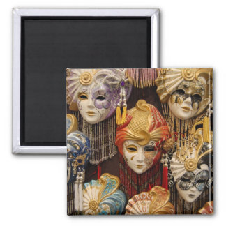 Carnival Masks in Venice Magnet