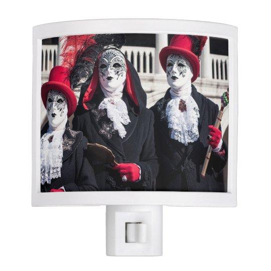 Carnival masks in Venice Night Lite