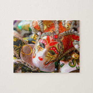 Carnival Masquerade Masks in Venice Italy Puzzles
