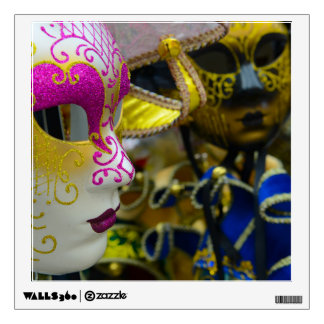 Carnival Masquerade Masks in Venice Italy Wall Decal