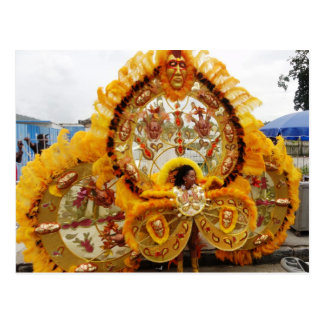 Carnival Masquerader, Trinidad and Tobago Postcard