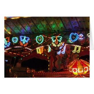Carnival Neon Card