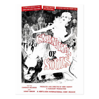 """Carnival of Souls"" Postcard"