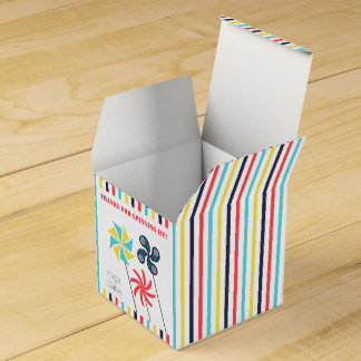 Carnival Pinwheel Favor Box