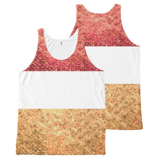 Carnival (Rouge version) Unissex All-Over-Print Tank Top