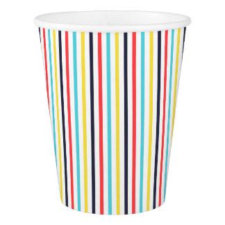 Carnival Stripe Paper Cup