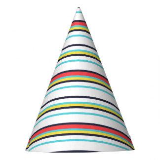Carnival Stripe Party Hat
