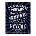 Carnival Style Gypsy Fortune Teller Poster