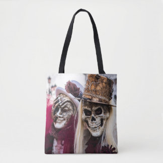 Carnival style tote bag