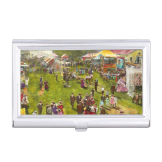 Carnival - Summer at the carnival 1900 Business Card Case