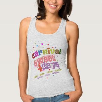 Carnival Sweet 4 Days (editable) Tank Top