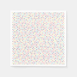 Carnival Tiny Dots Napkin