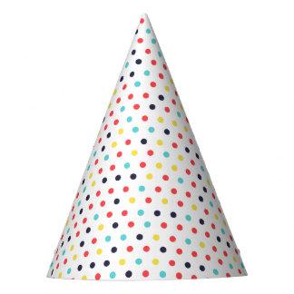Carnival Tiny Dots Party Hat